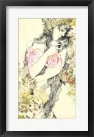 Framed Rose Girl