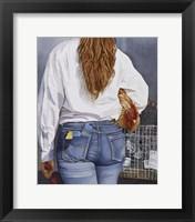 Framed County Fair Girl