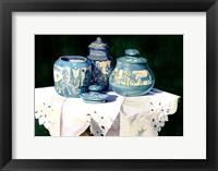 Framed Dakota Pottery
