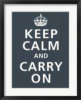 Framed Keep Calm