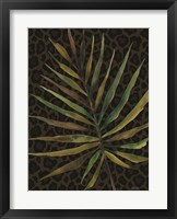 Framed Areca Leaf