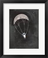 Framed Parachute Moon