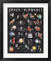 Framed Space Alphabet