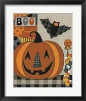 Framed Boo Jack O'lantern