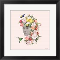 Flower Girl II Framed Print