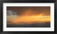 Framed Sunset Clouds in the Tetons