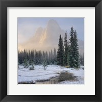 Framed Bell Mountain North Cascades II