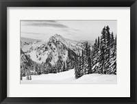 Framed Tatoosh Range BW