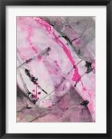 Cracks in the Earth II Framed Print