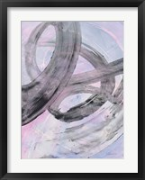 In the Mix III Framed Print
