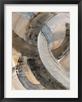 In the Mix II Framed Print
