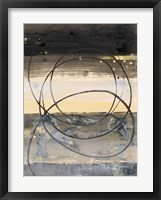 Horizon Balance I Light Framed Print