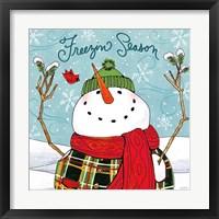 Snowplace Like Home III Framed Print