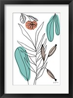 Rooted VI Framed Print