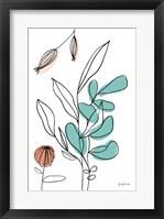Rooted V Framed Print