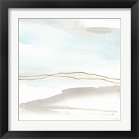 Gold Horizon II Framed Print