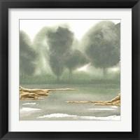 Gold Earth VI Framed Print