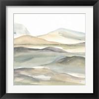 Valleyscape I Framed Print