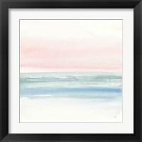 Framed Pink Fog II