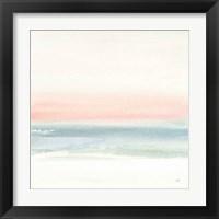 Framed Pink Fog I