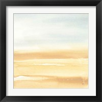 Ochre Sands I Framed Print