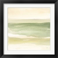 Green Water II Framed Print