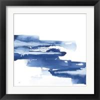 Classic Blue V Framed Print