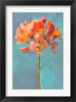 Modern Floral I Framed Print