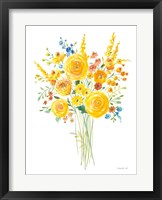 Sunshine Bouquet II Framed Print