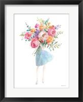 Bursting with Flowers Framed Print