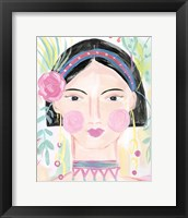 Framed Boho Lady V