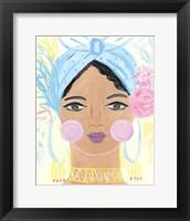 Boho Lady IV Framed Print