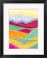 Sunny Landscape II Framed Print