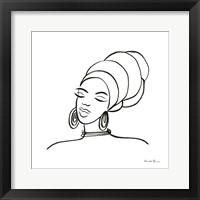 Muse II Framed Print