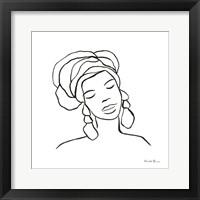 Muse I Framed Print