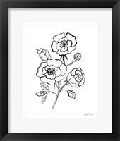Joyful Peonies I Framed Print