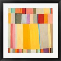 Framed Sunshine Stripes II