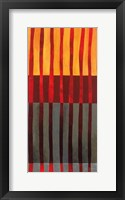 Framed Textured Stripes I
