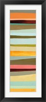 Sonoran Stripes II Framed Print