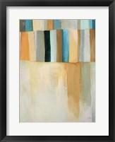 Coastal Stripes II Framed Print