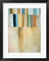 Coastal Stripes I Framed Print