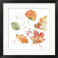Falling Leaves I Framed Print