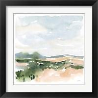 Gentle Landscape II Framed Print