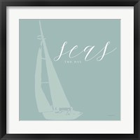 Seas the Day Framed Print