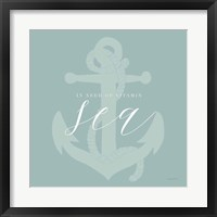 Vitamin Sea Framed Print