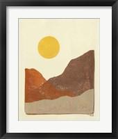 Framed Sedona I