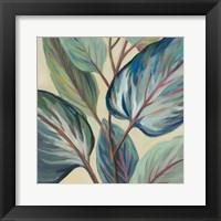 Framed Greenhouse Leaves