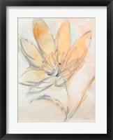 Flower Loops  II Framed Print