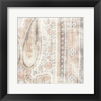 Antique Cloth II Framed Print