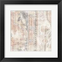 Antique Cloth I Framed Print